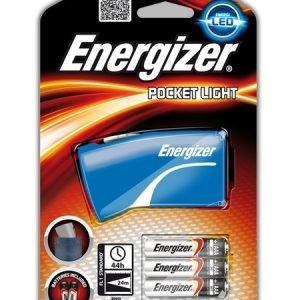 Linterna energizer fl pocket light, 3 aaa, color azul