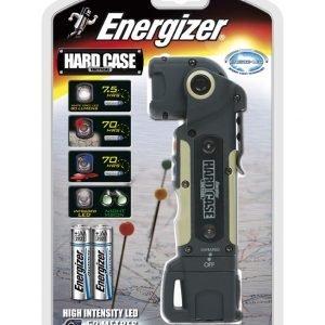 Energizer linterna hard case tactical led, sumergible, flotadora y ultra resistente
