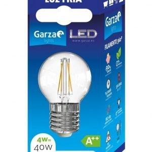 Garza lighting, bombilla led filamento esférica 4w, e27, 360º, 470 lúmenes, 5000 k, luz fría