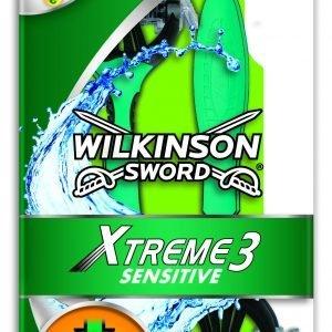 Wilkinson sword xtreme3 - maquinillas de afeitar desechables para pieles sensibles, 4 unidades