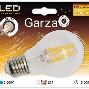 Bombilla garza led filamento estándar, 7 w, e27, 810 lúmenes, luz fría