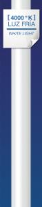 Tubo garza led g13, 22w, 200º, 2000 lúmenes, longitud 1500 mm, 4000k, luz neutra