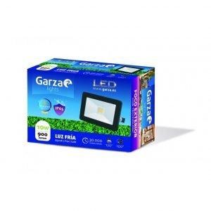 Garza lighting outdoor, foco proyector led exterior ip65 cob, 10w, 120º, 900 lúmenes, 6500 k, luz f