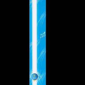 Garza lighting, tubo led nano t8 18w 1200 mm luz neutra con sensor de movimiento 810 lúmenes