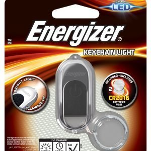Llavero linterna energizer hi-tech key ring, acabado cromado
