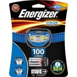 Linterna energizer headlight led vision frontal de cabeza con 3 pilas aaa, 100 lúmene