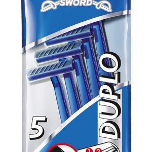 Wilkinson sword, bolsa de 5 maquinillas duplo flat crystal