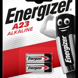 Energizer blister de 2 pilas alcalinas de 12v, a23, e23a