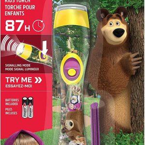 Energizer linterna de mano masha y el oso (masha and the bear), 6 lúmenes