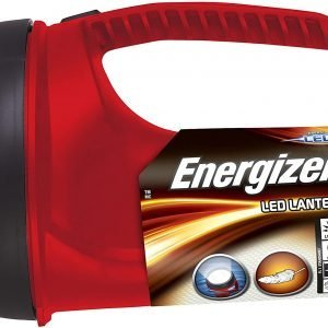 Energizer linterna proyector led barco estanco flotante, sumergible, 80 lúmenes, rojo-negro