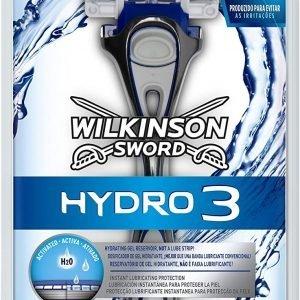 Wilkinson sword hydro 3, máquina de afeitar masculina de 3 hojas con dosificador de gel