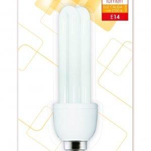 Garza 4u lighting, bombilla eco stick t3 2u 11w e14 600 lúmenes 27k