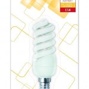 Garza 4u lighting, bombilla eco esp. t2 11w e14 600 lúmenes 27k