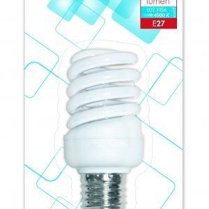 Garza 4u lighting, bombilla eco esp. t2 15w e27 800 lúmenes 40k