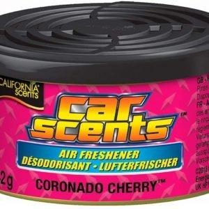 """California scents, ambientador coche fragancia piruleta de cereza, """"coronado cherry"""""""