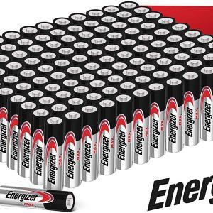 Energizer max pack de 40 pilas alcalinas aa, lr06, 1.5 v, 50% más de rendimiento