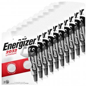 Energizer litio cr2032, 3v. pack de 20 unidades