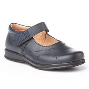 Angelitos, zapatos colegiales de niña, color azul marino