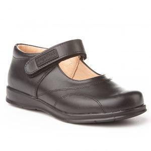 Angelitos, zapatos colegiales de niña, color negro