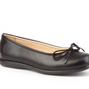 Angelitos, Sabrinas, zapatos colegiales, en color negro