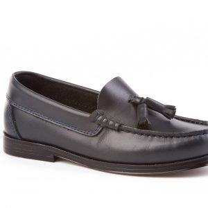Angelitos, Zapato colegial tipo Castellano en azul marino