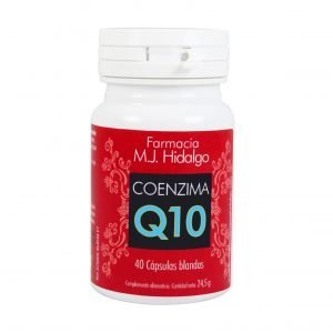 Coenzima Q10 MARIA JOSE HIDALGO | Antiedad, activador de energía, elimina calambres y previene migrañas, complemento para deportistas y dietas.