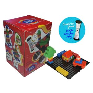 Juego de construcción Combis Educativo | Caja de 33 piezas | Mayores de 18 meses