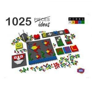 mosaico-pixel-color-1042-piezas-ref-84804
