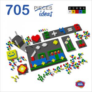 mosaico-pixel-color-718-piezas-ref-84803