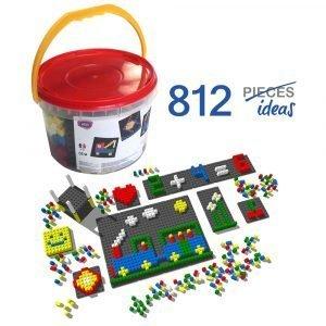 mosaico-pixel-color-813-piezas-ref-84810