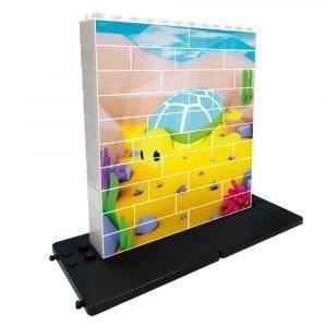 Puzzle Vertical Tortuga Puzzle Up Educativo | Caja de 32 piezas | Mayores de 3 años