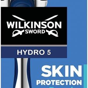 Wilkinson sword máquinilla de afeitar hydro 5 skin protection regular + recambio de cuchillas de af