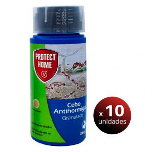 Sbm protect home®, insecticida cebo granulado que mata hormigas y elimina hormigueros, 200 grs. pac