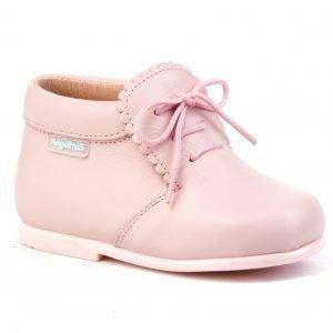 Botín para bebé de Angelitos, en rosa