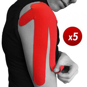 5 x vendaje funcional neuromuscular precortado para el hombro