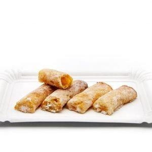 Huesitos 100% Artesanales Mazapán con yema de huevo y cabello de ángel | Sin gluten