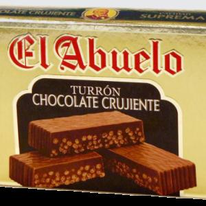 Chocolate crujiente El Abuelo de 200g