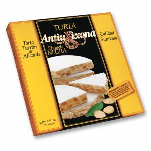 Torta de Turrón duro de Alicante