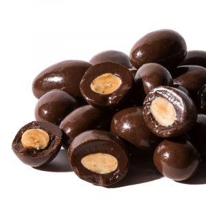 Almendras bañadas en chocolate   Bolsa de Peladillas de chocolate de 150g