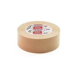 Precinto Cinta adhesiva de Papel Kraft Miarco 50 m lineales   Color marrón   48 mm Ancho   Para todo tipo de cajas