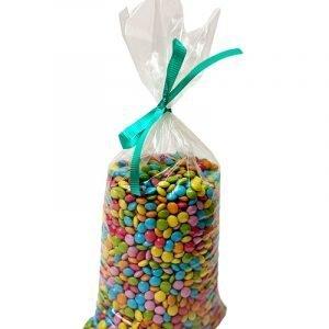 Minidiscos de colores de chocolate en formato de 1Kg