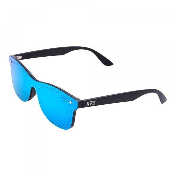 Gafas de sol azul y negras