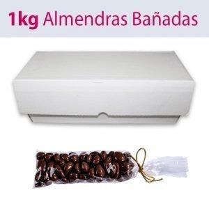 Almendras bañadas en chocolate   Peladillas de chocolate a granel en formato de 1Kg