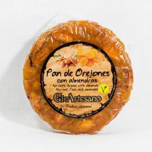 Pan de Orejones (Albaricoques secos) con almendras 200g