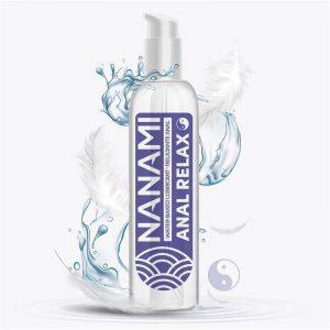 Nanami Lubricante Base Agua Anal Relajante 150 ml